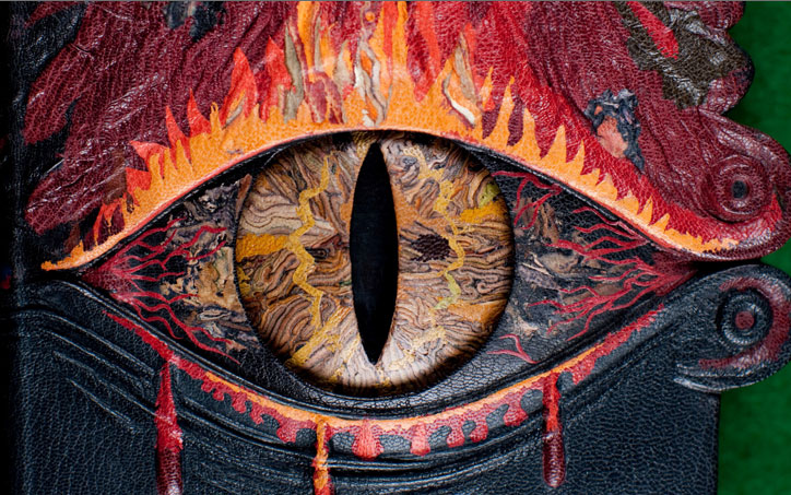 Lord Of The Rings Eye Of Sauron Tattoo